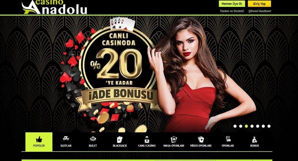 Anadolu Casino Giriş Linki