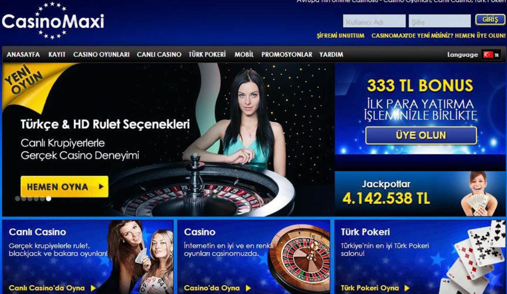 Casinomaxi Giriş Linki